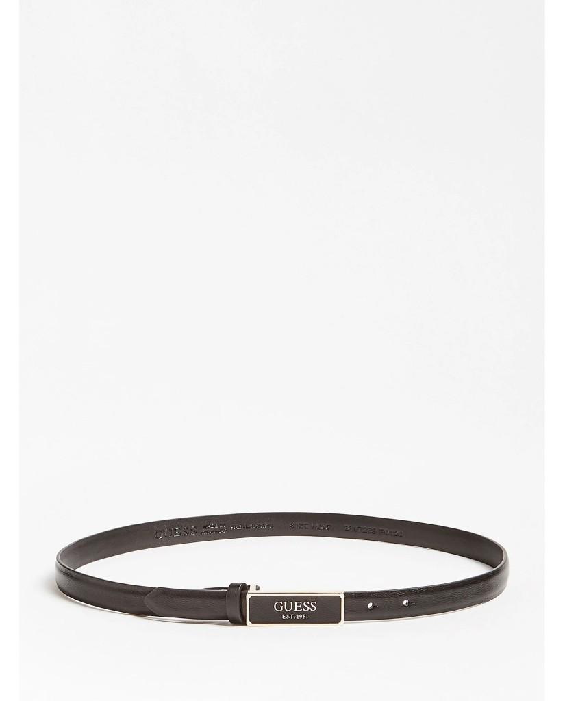 Guess Cinture   Adjustable pant belt Donna Nero Fashion