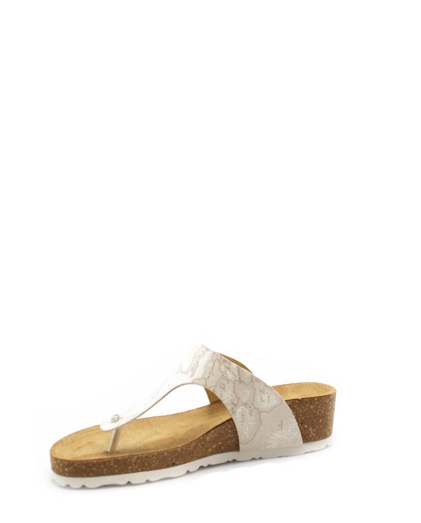 1^classe  Infradito F.gomma Ze654 Donna Bianco Fashion
