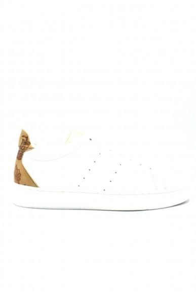 1^classe  Sneakers F.gomma 35/41 Donna Bianco Fashion