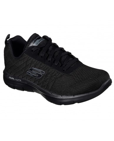 Skechers Sneakers F.gomma 35/41 Donna Bbk Sportivo
