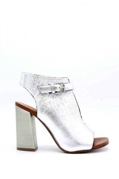Elvio zanon Sandali F.gomma 35/40 f5204n Donna Argento-cuoio Fashion
