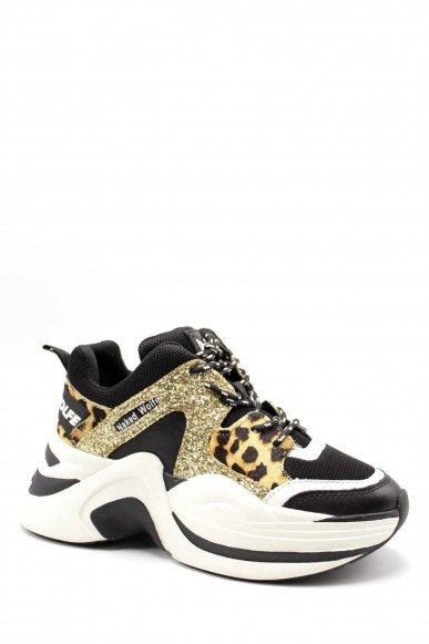 Naked wolfe Sneakers F.gomma 35/40 Donna Oro Fashion