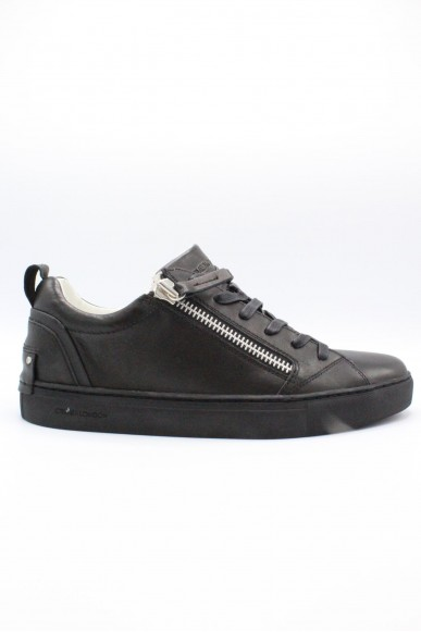 Crime Sneakers F.gomma 40/44 Uomo Nero Fashion