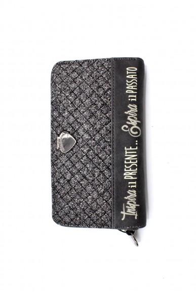 Le pandorine Portafogli - Wallet glitter presente Donna Dark grey Fashion