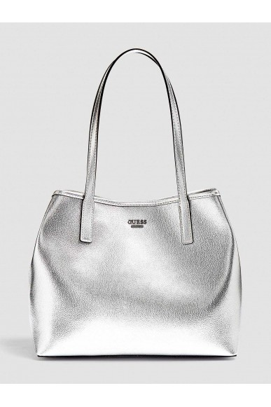 Guess Borse - Vikky tote Donna Silver Fashion