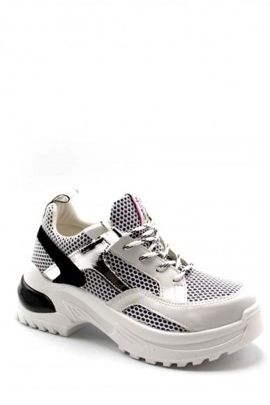 Vitamina Sneakers F.gomma 50012 Donna Argento Fashion