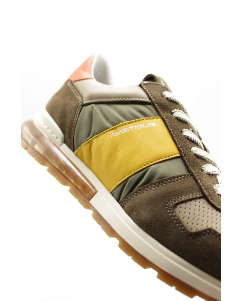 Ambitious Sneakers F.gomma 40-45 Uomo Taupe Sportivo
