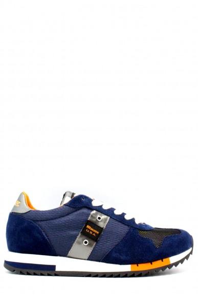 Blauer Sneakers F.gomma 40-45 Uomo Blu Casual