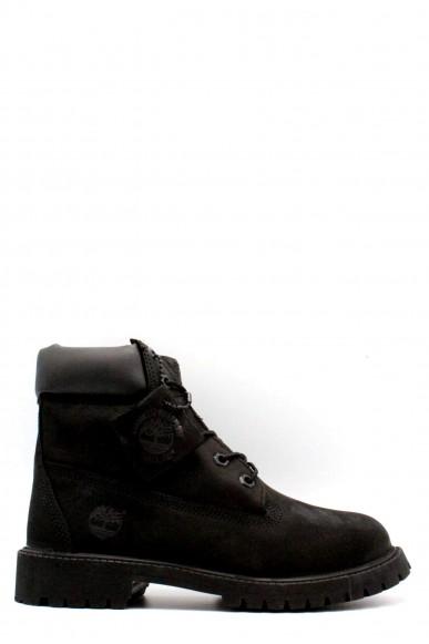 Timberland Stivali F.gomma 6'' waterproof Bambino Nero Fashion