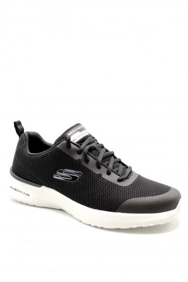 Skechers Sneakers F.gomma 40-45 232007 Uomo Nero Casual