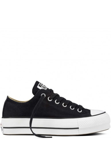 Converse Sneakers F.gomma Chuck taylor all star lift Donna Nero Fashion