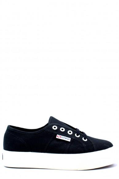 Superga Sneakers F.gomma 35/41 2730 cotu Donna Nero Sportivo