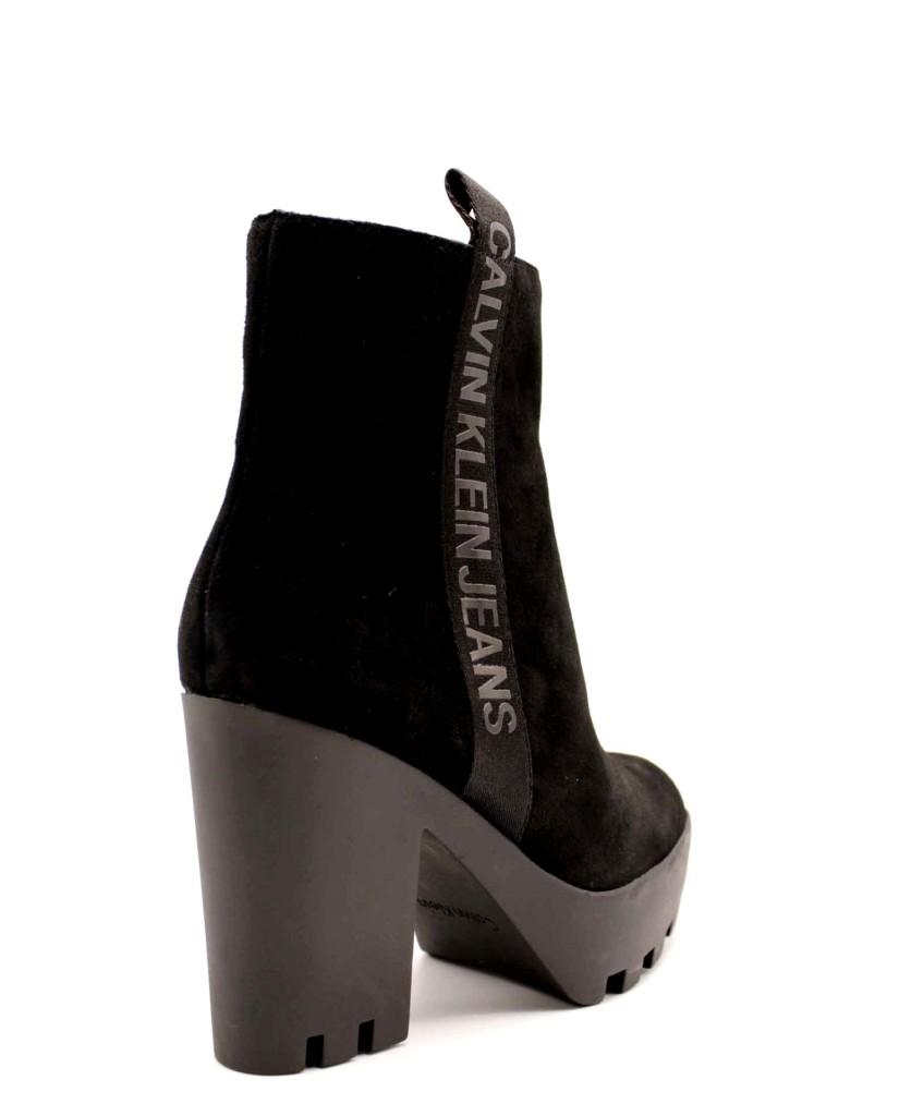Calvin klein Tronchetti F.gomma Donna Nero Fashion
