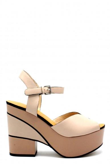 Elvio zanon Sandali F.gomma 36/41 h6304n made in italy ss18 Donna Nude Fashion
