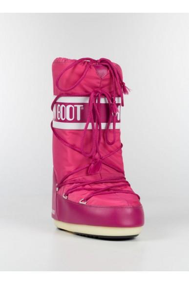 Moon boot Stivali F.gomma 35-41 Donna Rosa Sportivo