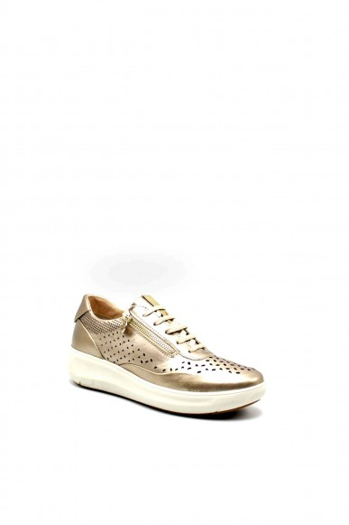 Stonefly Sneakers F.gomma Rock 10 laminated lth Donna Grigio Casual