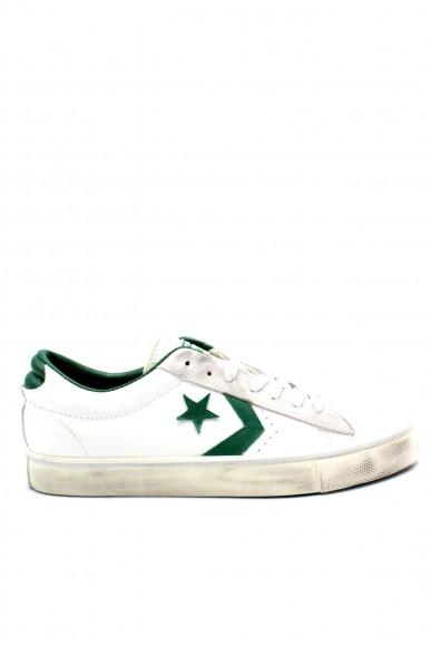 Converse Sneakers F.gomma  pro leather vulc Uomo Bianco-verde Sportivo