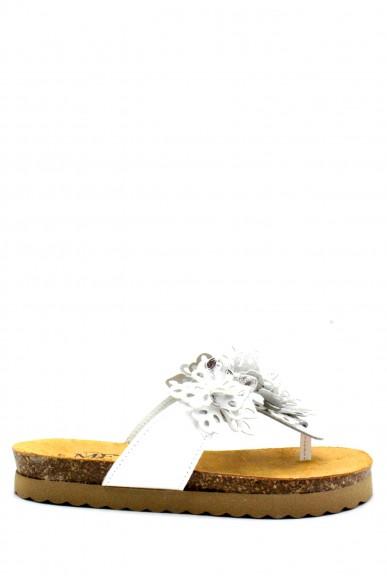 Mercante dei fiori Infradito F.gomma 35/41 made in italy Donna Bianco Fashion