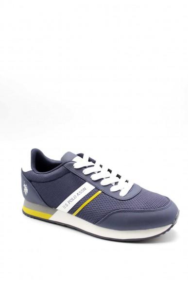 Us polo Sneakers F.gomma Uomo Blu Fashion
