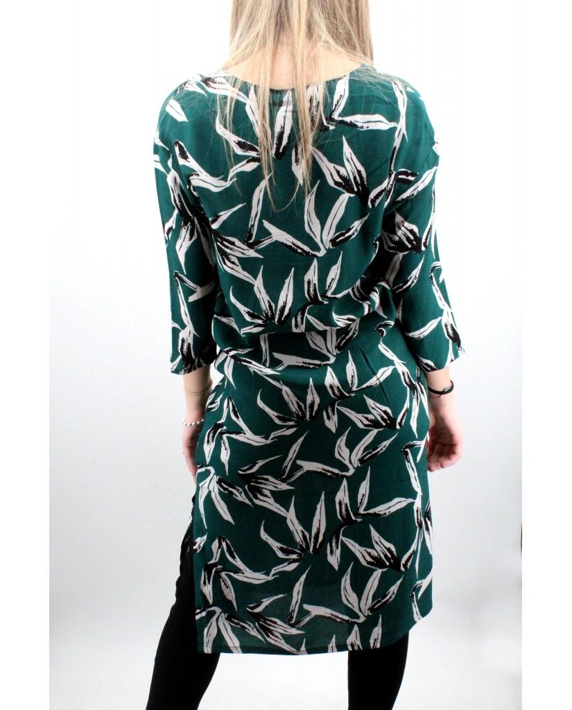 Ichi Bluse Donna Verde Casual