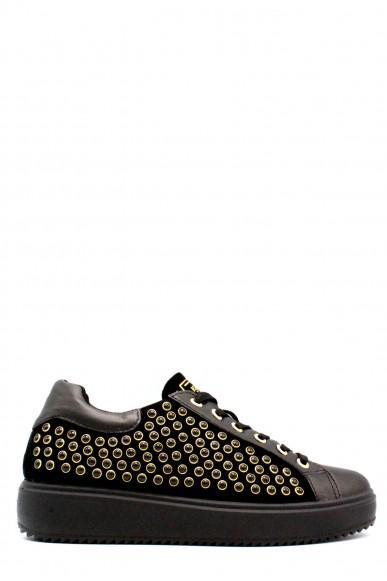 Igieco Sneakers F.gomma 35/41 made in italy Donna Nero Classico