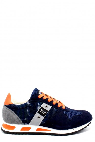 Blauer Sneakers   8s memphis 02 Uomo Navy Fashion