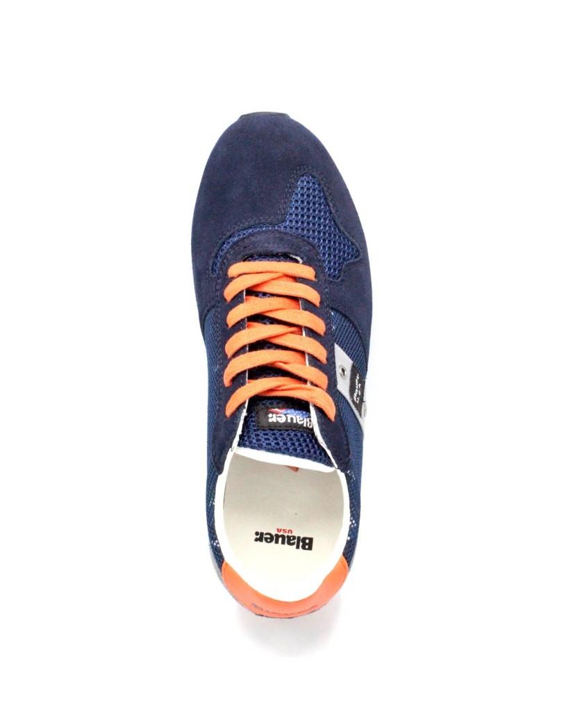 Blauer Sneakers   8s memphis 02 Uomo Navy Fashion