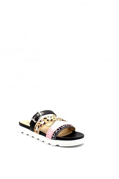 Liu.jo Sandali F.gomma Desy 55 - slipper black Donna Nero Fashion