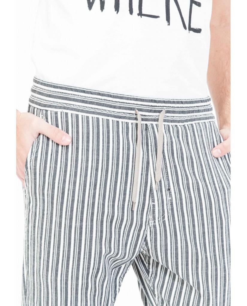 Antony morato Pantaloni   Pantalone con elastico in vita Uomo Nero Fashion