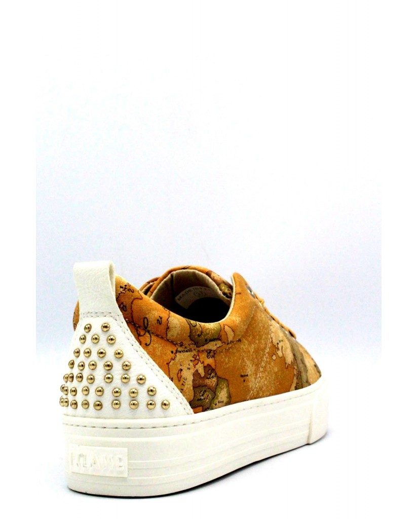 1^classe  Sneakers F.gomma 35/40 0087/0034 Donna Beige Fashion