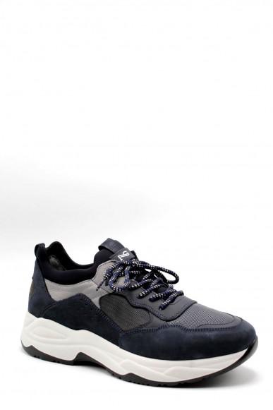 Nero giardini Sneakers F.gomma Nabuk blu notte 1083 gommato petrol Uomo Blu Casual