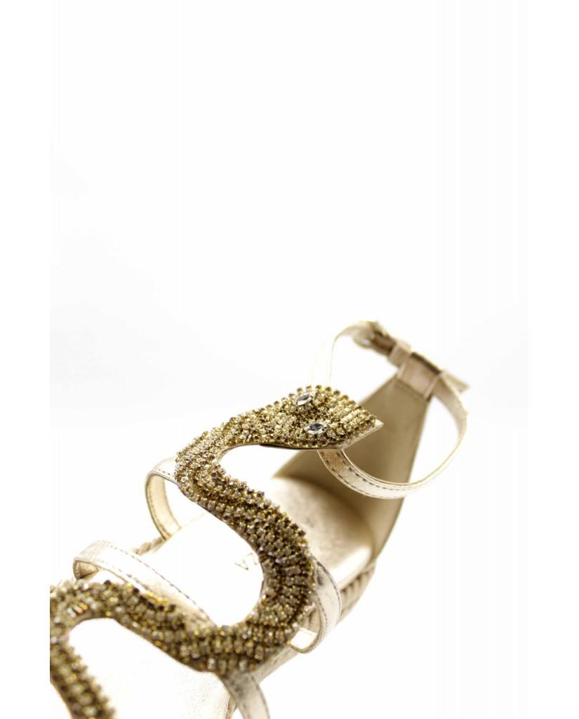 Ape pazza Sandali F.gomma Victoria Donna Oro Fashion