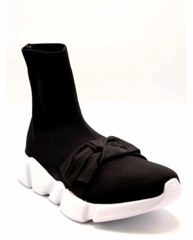 My twin Slip-on F.gomma Donna Nero Fashion