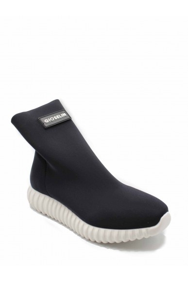Gioselin Sneakers F.gomma Donna Nero Fashion