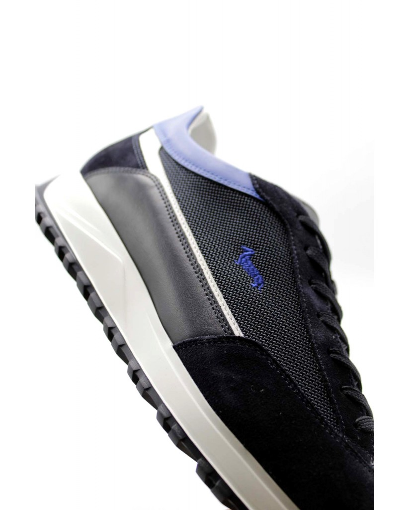Harmont&blaine Sneakers F.gomma 40/45 Uomo Blu Fashion