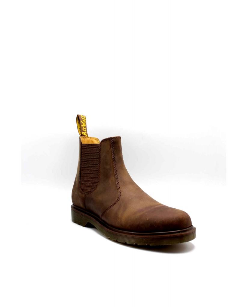 Dr. martens Beatles F.gomma 2976 crazy horse gaucho pw chelsea Uomo Marrone Fashion