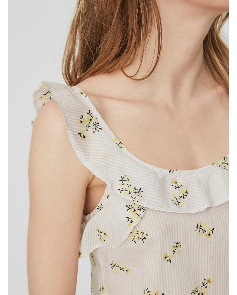Vero moda Top Donna Fantasia Casual
