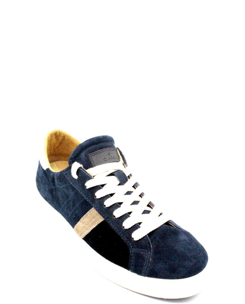 Date Sneakers F.gomma 40-45 made in italy Uomo Blu Casual