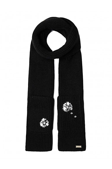 Guess Sciarpe   Not coordinated scarf Donna Nero Fashion