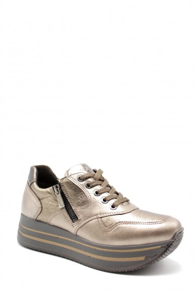 Igieco Sneakers F.gomma Dky 61661 Donna Bronzo Casual