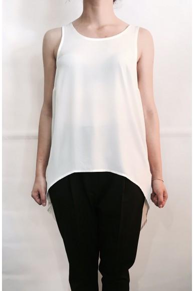 Berna Canottiere S-l Donna Bianco Fashion