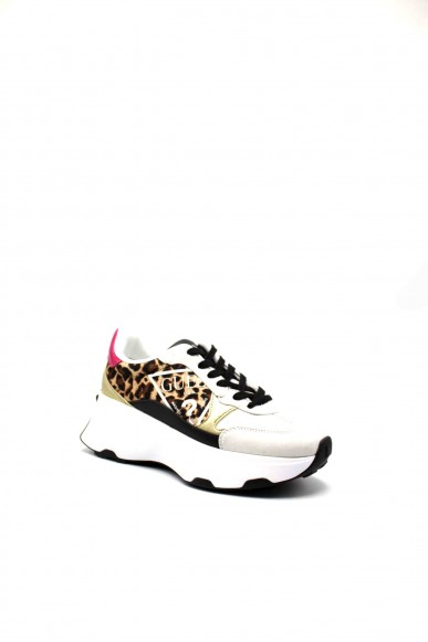 Guess Sneakers F.gomma Calebb/active lady/fabric Donna Leopardo Fashion