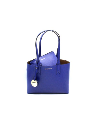 Emporio armani Borse - Minidollaro shoppingdandelion y3d080 yh15a Donna Bluette/cuoio Fashion