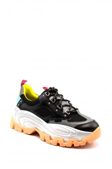 Liu.jo Sneakers F.gomma 36/41 wave 01 Donna Nero Fashion
