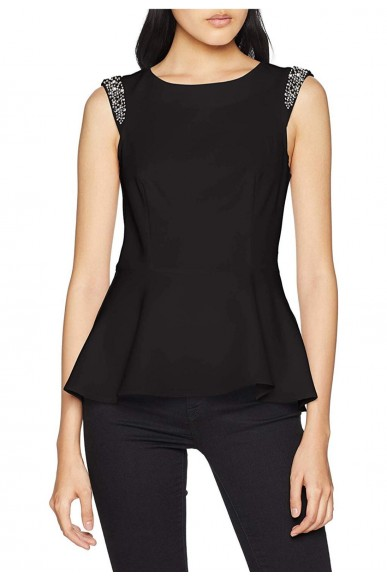 Guess Top   Sl sara top Donna Nero Fashion