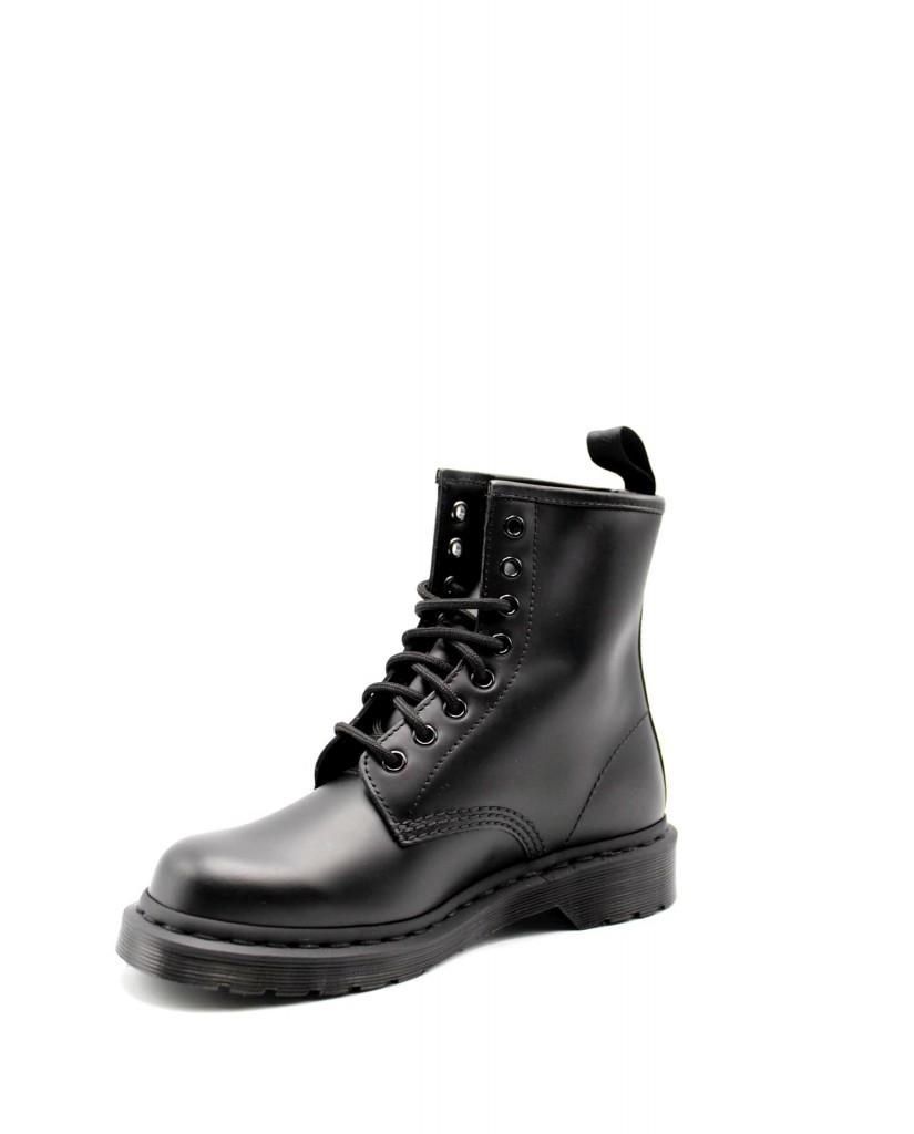 Dr. martens Stivaletti   1460 mono black smooth Donna Nero Fashion