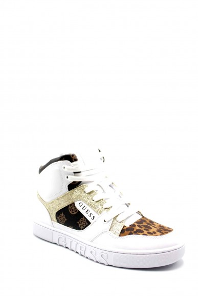 Guess Stivali F.gomma Justis2/stivale (boot)/leather Donna Bianco Fashion