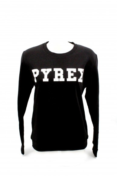 Pyrex Felpe   Unisex Nero Fashion