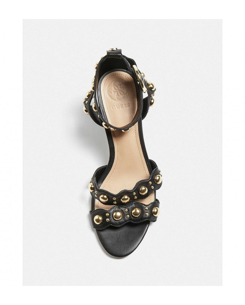 Guess Sandali   Nikey sandalo (sandal) leather Donna Nero Fashion