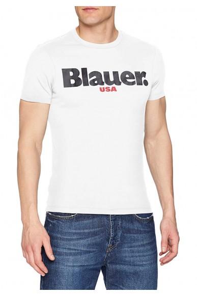 Blauer T-shirt   T-shirt manica corta Uomo Avorio Fashion